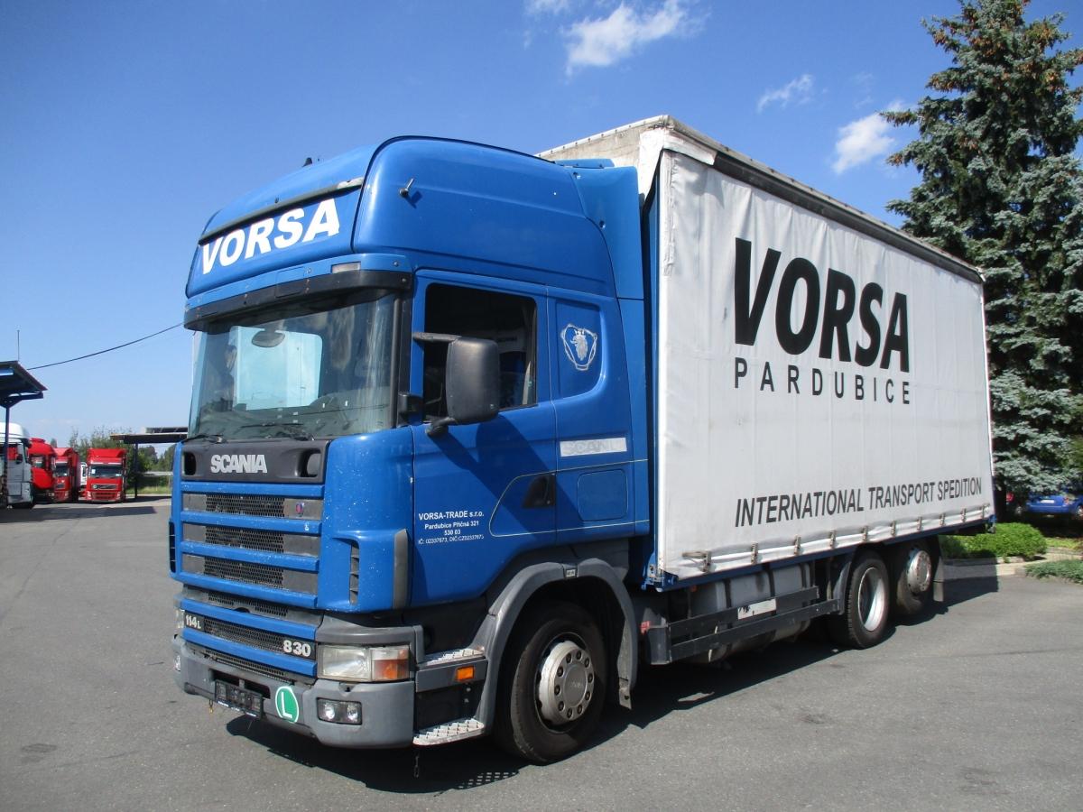 Scania  114L380 EURO 3 6x2