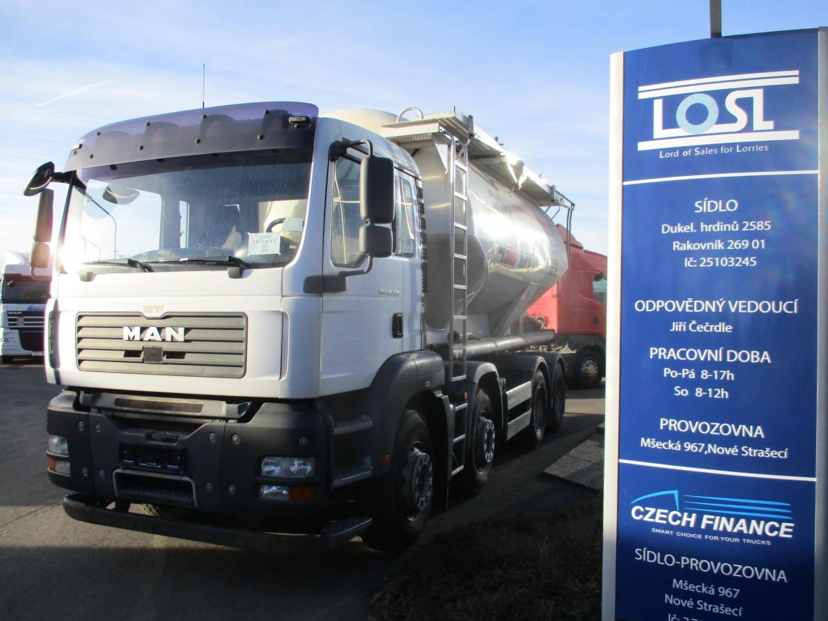 MAN  TGA35.400 8x4