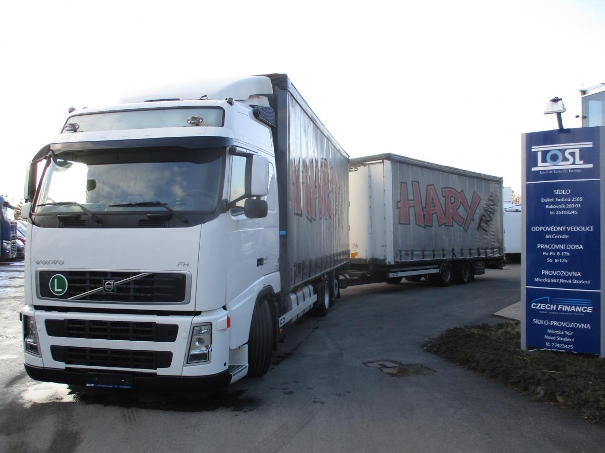 Volvo  FH13.400 6x2 EURO 5 + Van Hool