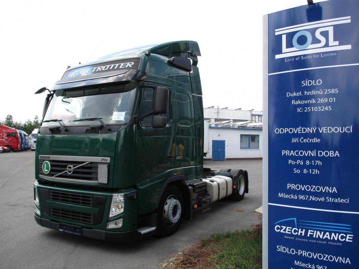 Volvo  FH13.420 MEGA-lowdeck EURO 5