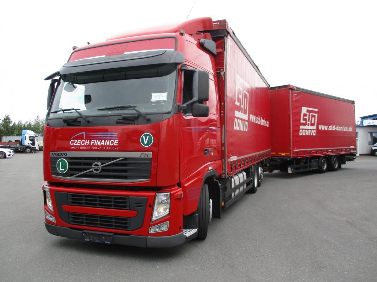 Volvo  FH13 500 6x2 tandem 120 m3